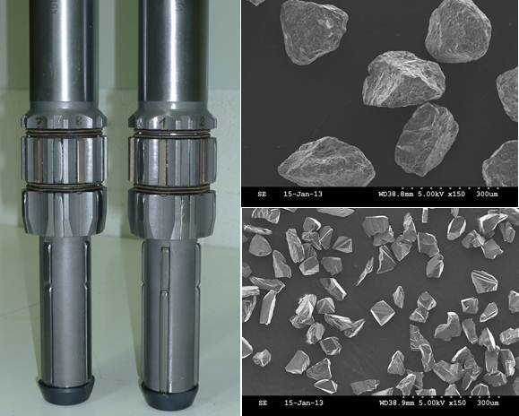 Dia. 4: Hone tools with lower guides and CBN-abrasive crystals (B213 / B46)