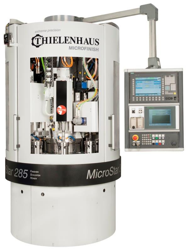 Dia. 9: Machine for combination machining of gears