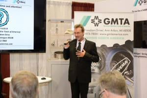 Press conference at IMTS 2014