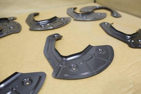 GM Sierra dust shields
