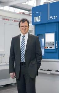 Dr. Guido Hegener, Managing Director EMAG Salach Maschinenfabrik GmbH