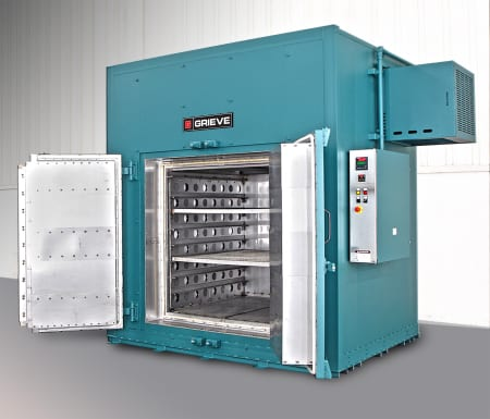 1050ºF Cabinet Oven From Grieve