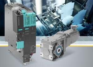 Siemens has expanded its extensive drive portfolio for servo applications to include the Simotics S-1FG1 servo geared motor that is optimally harmonized with the Sinamics S120 converter system. The complete integration of this drive system into Totally Integrated Automation (TIA) makes configuration and commissioning easy.