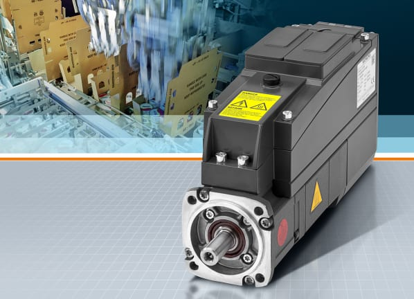 Siemens präsentiert dezentralen Servoantrieb Sinamics S120M / Siemens presents distributed Sinamics S120M servo drive
