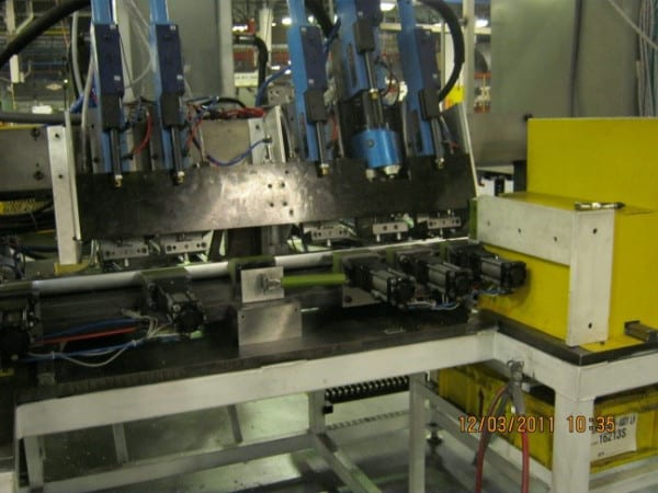 Suhner on Profile cutting and drilling machine