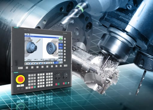 Siemens CNC in metalcutting applications.