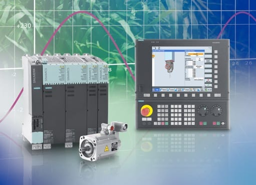 The Sinumerik 840D sl control is based upon the Sinamics S120 drives platform.