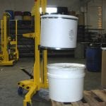 Ergo-Matic® HR double-stack plastic drum