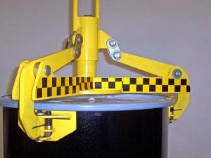 Below Hook Drum Handling Side View
