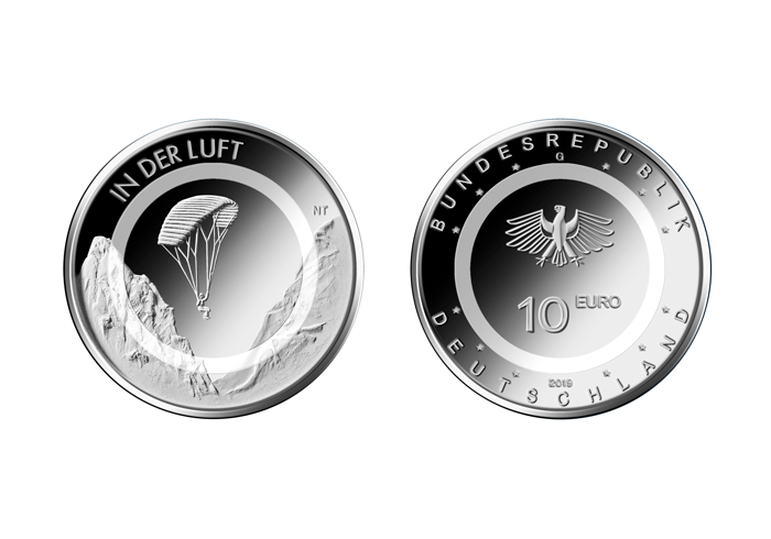 Striking Begins for New Ten Euro Collector's Coin