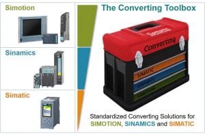 Converting Toolbox for Simotion, Sinamics and Simatic