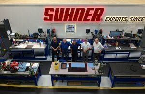 Suhner Repair Center Team