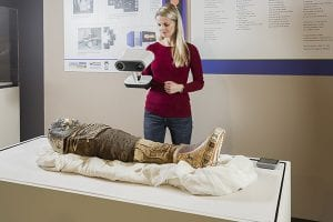 Scanning mummy