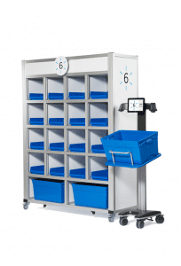 Mobile Sort Wall Kiosk