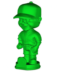 """Bobby Boy"" Computer Scan from Exact Metrology"