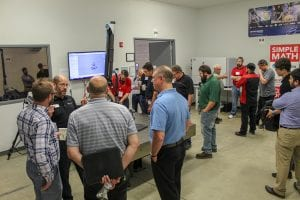 Customers attend Exact Metrology open house