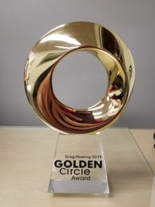 Greg Hoeting Exact Metrology Golden Circle Award
