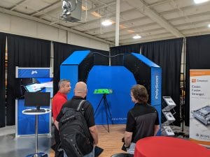 Exact Metrology Open House Displaying Products