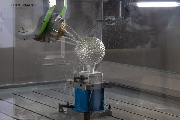 FZ33 milling head in action
