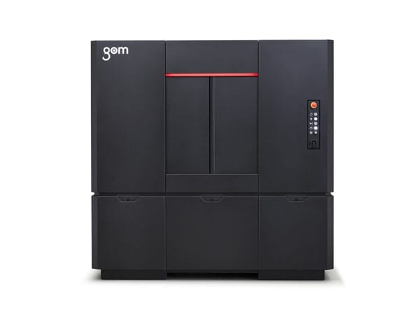 Photo of the GOM scanner