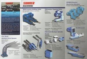 Suhner Machining brochure inside