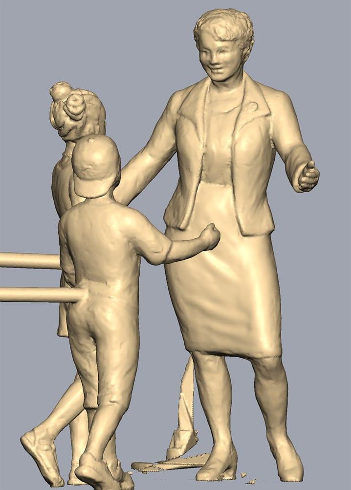 Statue Honoring Cincinnati Civil Rights Activist Marian Spencer