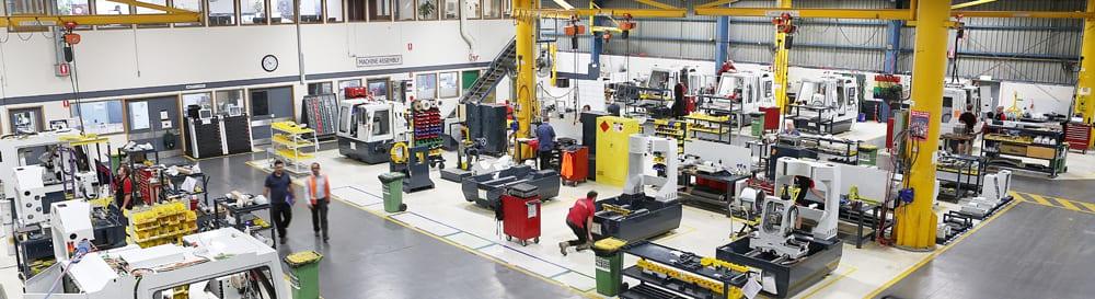 ANCA Australia Factory