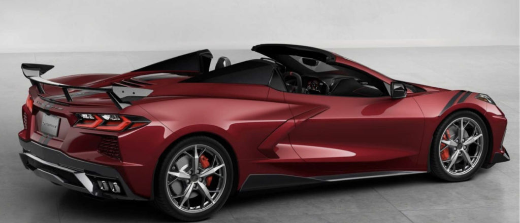2020 Chevy Corvette Convertible