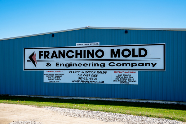 The Franchino Mold & Engineering building in Lansing, Michigan