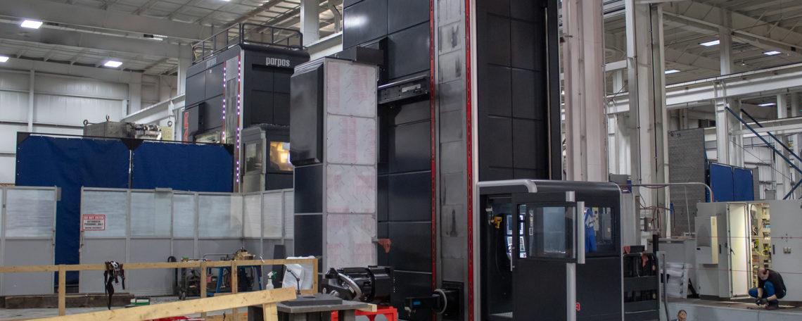 Large machining parts (inside Strohwig)
