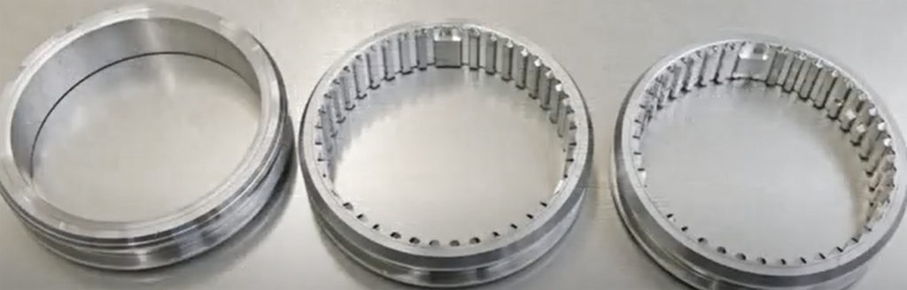 Manufactured gears